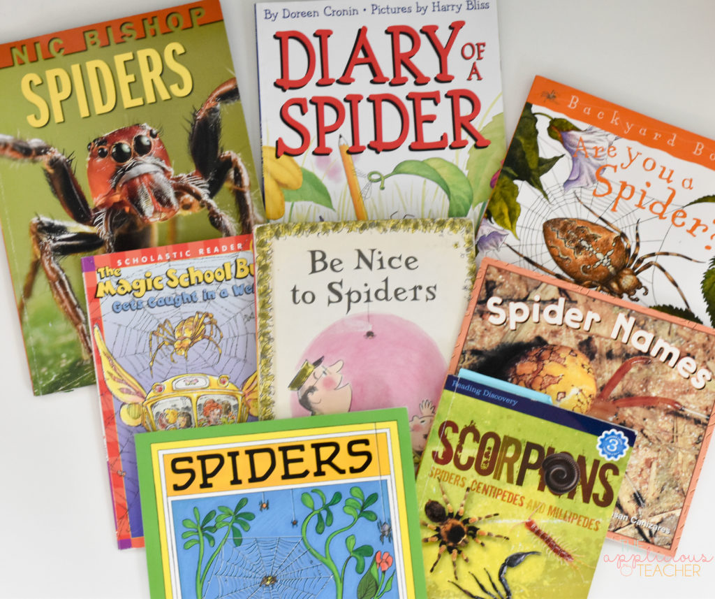 some of my favorite books about spiders- perfect for a spider unit!