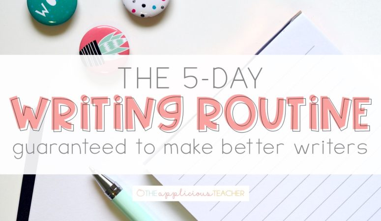 5 Day Writing Routine: Guaranteed to Make Better Writers