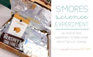 Smores science experiment in the classroom- great way to demonstrate the sun's energy- TheAppliciousTeacher.com