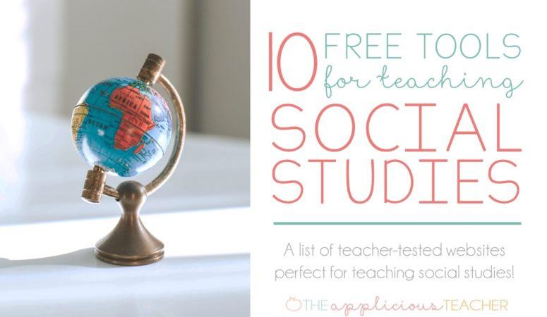 10 Free Tools for Teaching Social Studies