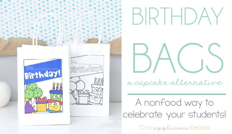 Birthday Bags: A Nonfood Alternative to Celebrating Birthdays in the Classroom