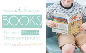 Must have beginning chapter books for your 2nd grade classroom