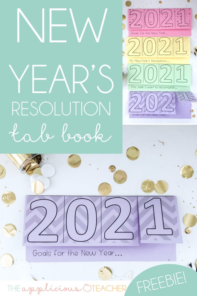 new years resolution activity 2021