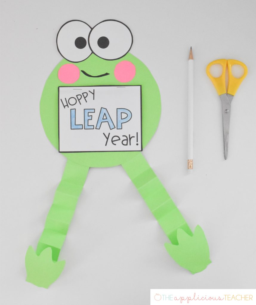 leap year frog activity