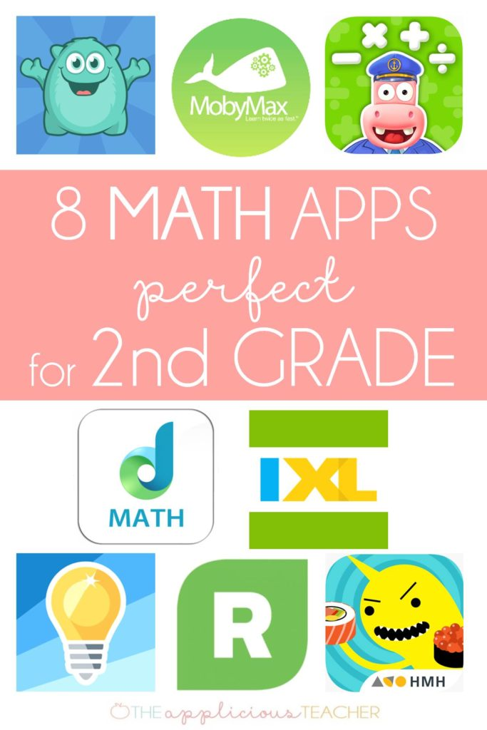 8 Math Apps Perfect for your 2nd Graders