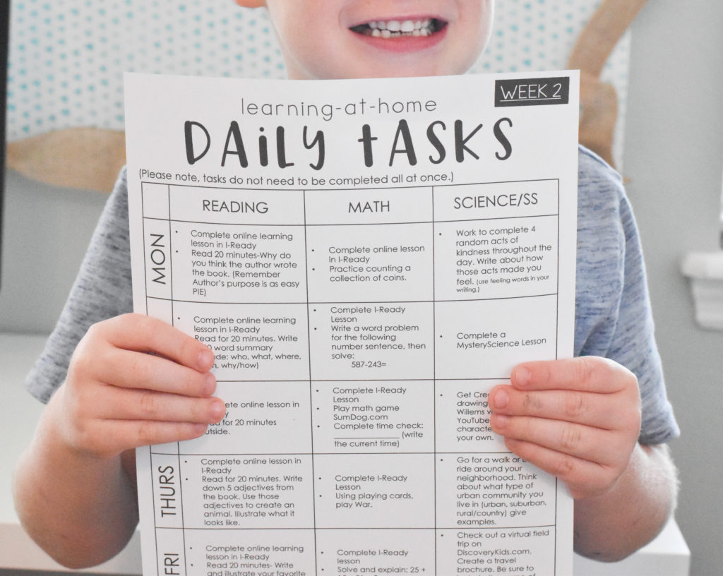 at home learning kit