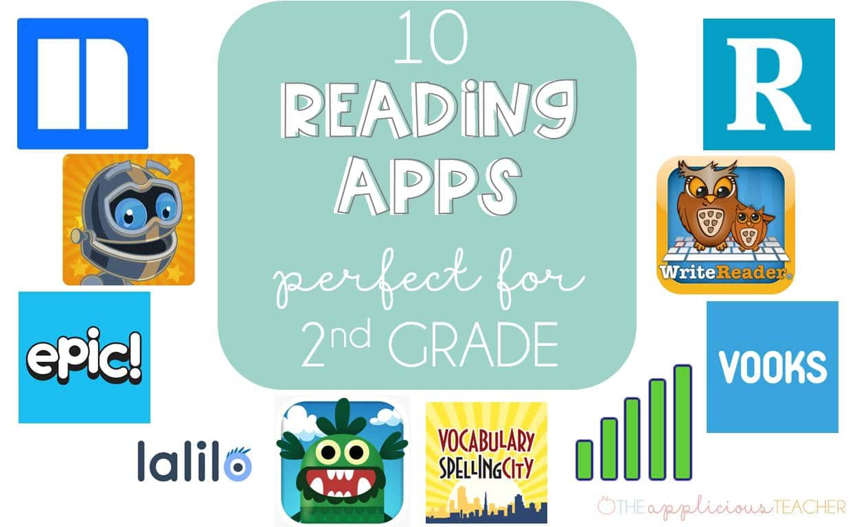 10 Reading Apps for 2nd Grade