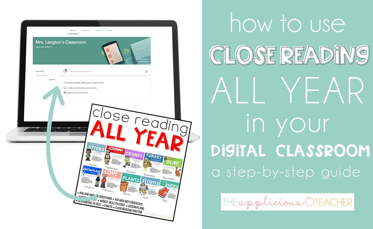 using your resources in your digital classroom