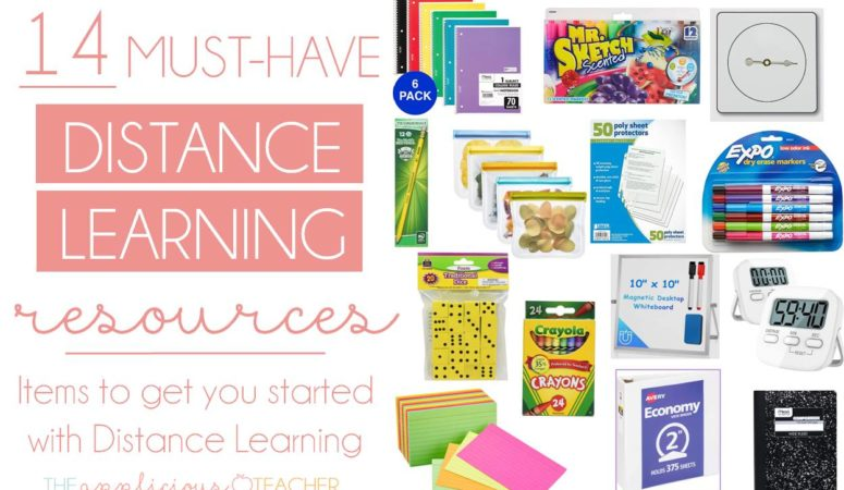 14 Items to Get Started with Distance Learning