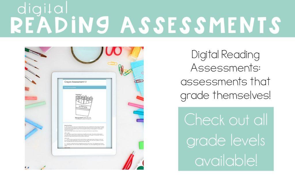 digital reading assessments