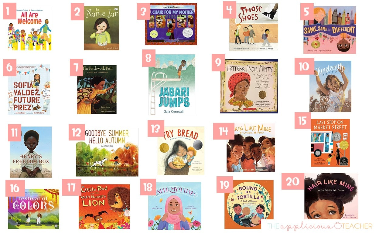diverse books for the primary classroom
