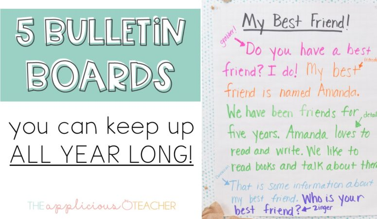 5 Bulletin Boards That You Can Keep Up All Year