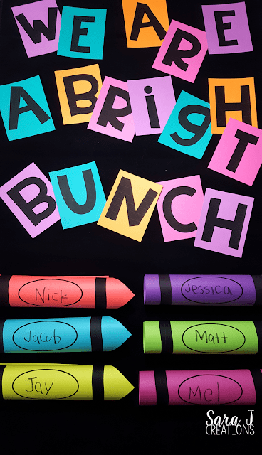bright bunch bulletin board