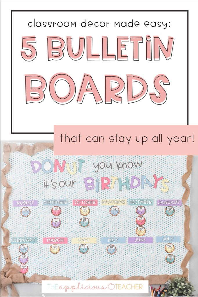 bulletin board ideas you can keep up all year