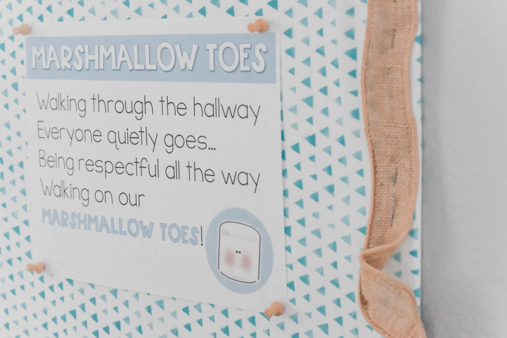 marshmallow toes poster