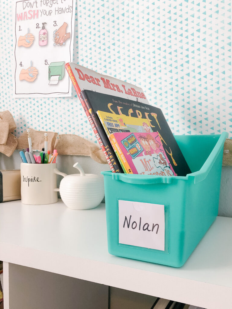 book boxes for socially distant library