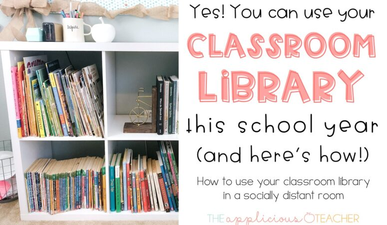 Managing Your Library in a Socially Distanced Classroom