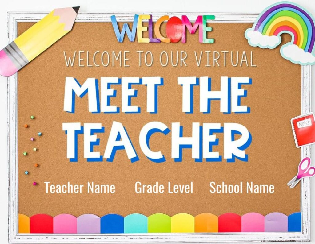 digital meet the teacher