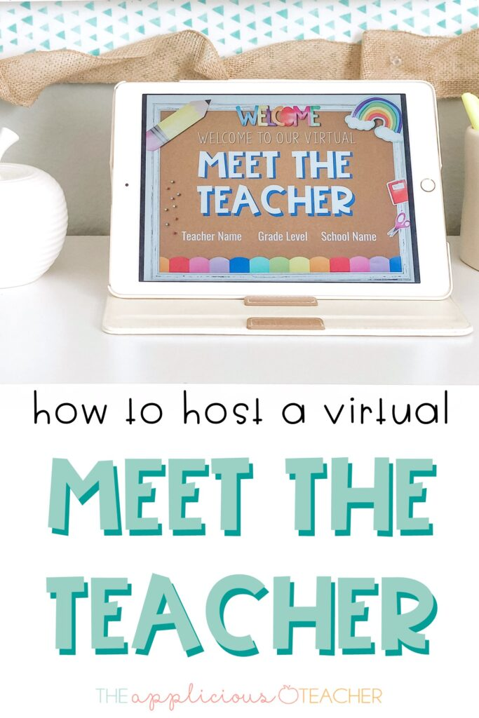 virtual teacher meet and greet