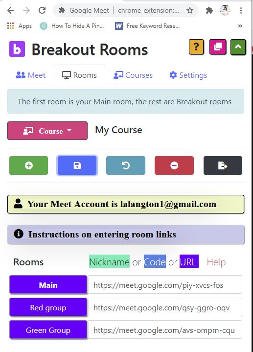 google breakout rooms for teachers
