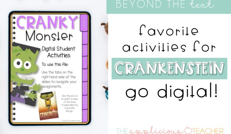 Crankenstein Activities for the Digital Classroom