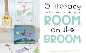 room on the broom literacy activities