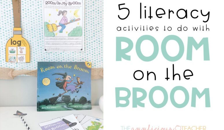 5 Literacy Building Activities for Room on the Broom