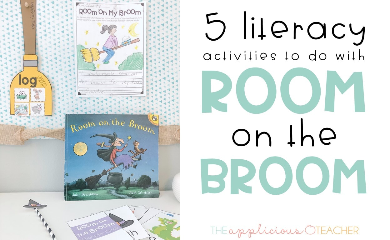 5 Literacy Building Ideas For Room On The Broom Activities
