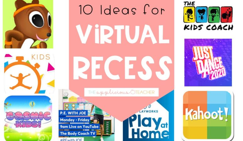 Virtual Recess Ideas for Distance Learning