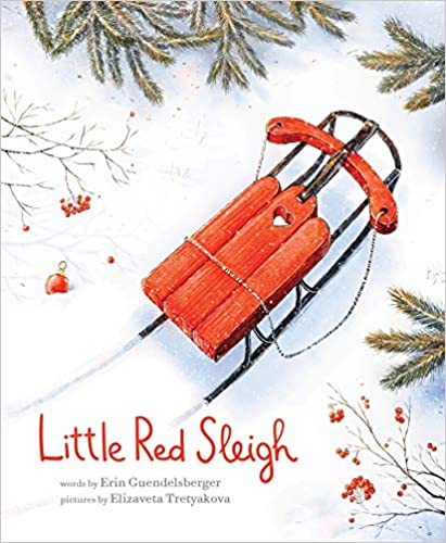 little red sleigh december read aloud