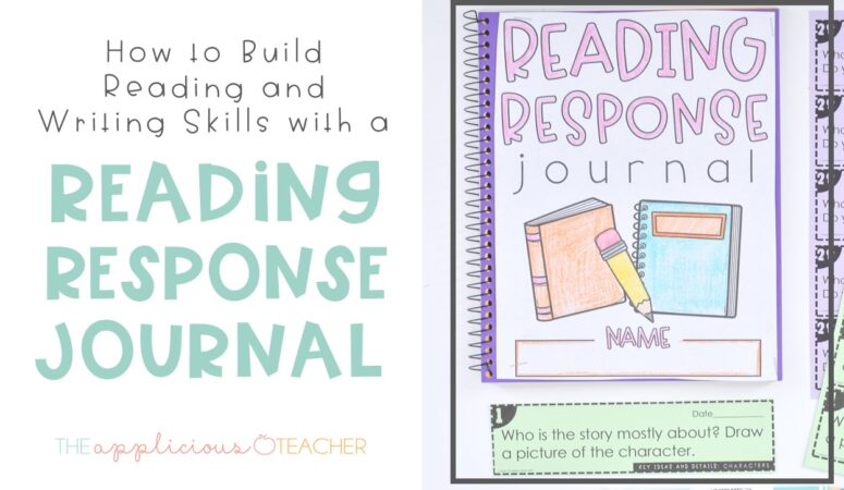 Reading Response Journal Glue-Ins: The Simple Way to Build Reading and Writing Skills