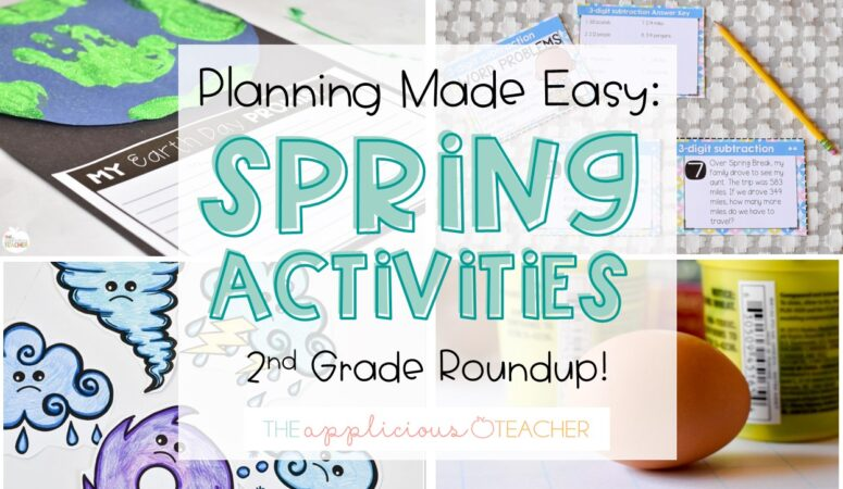 The 10 BEST Spring Activities for Your Classroom
