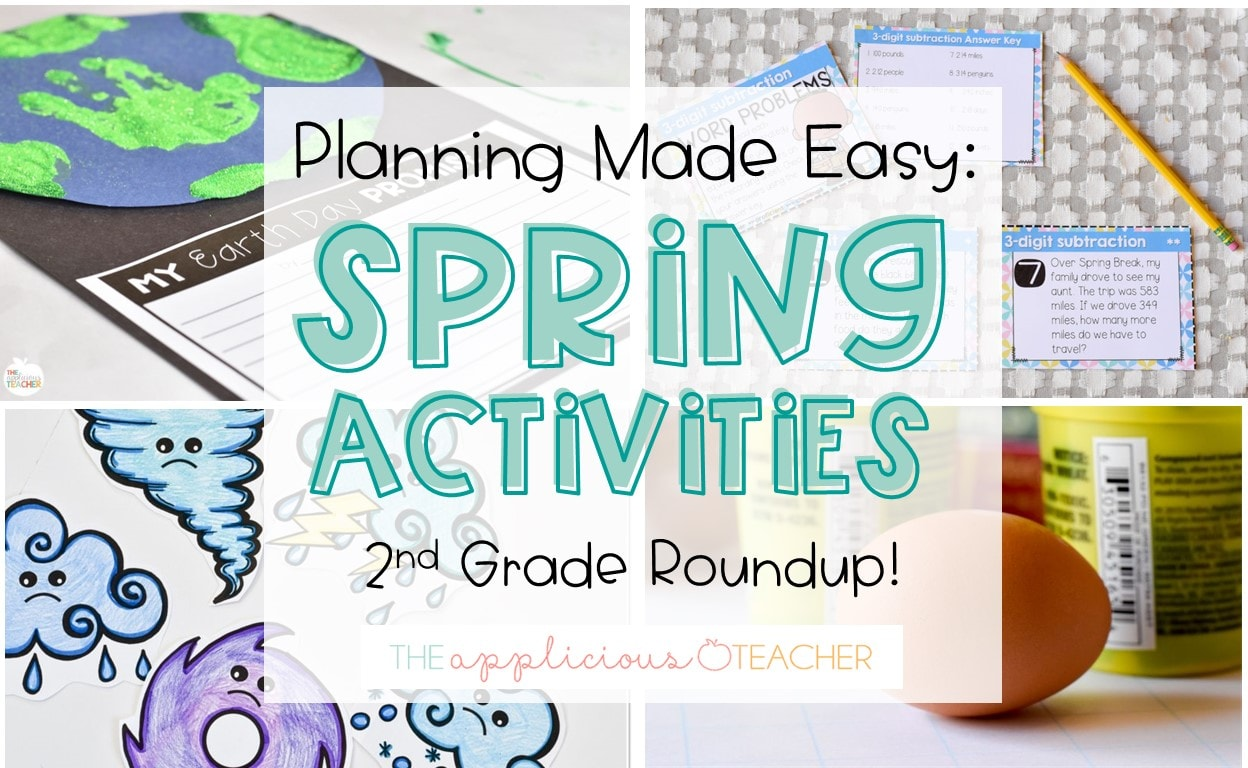 spring activities and ideas for 2nd grade