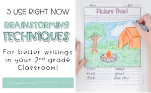 brainstorming techniques for 2nd grade writing