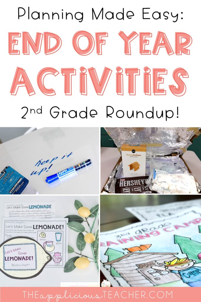 end of year activities 2nd grade