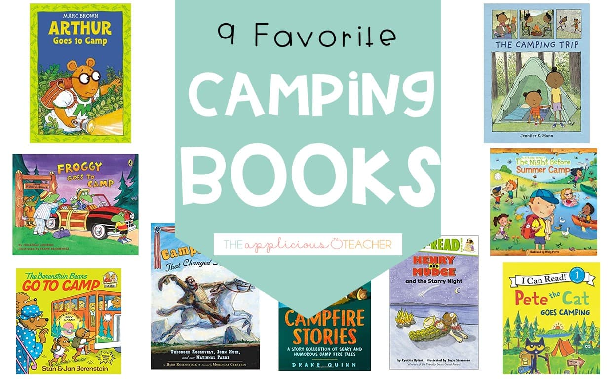 camping themed books for 2nd grade