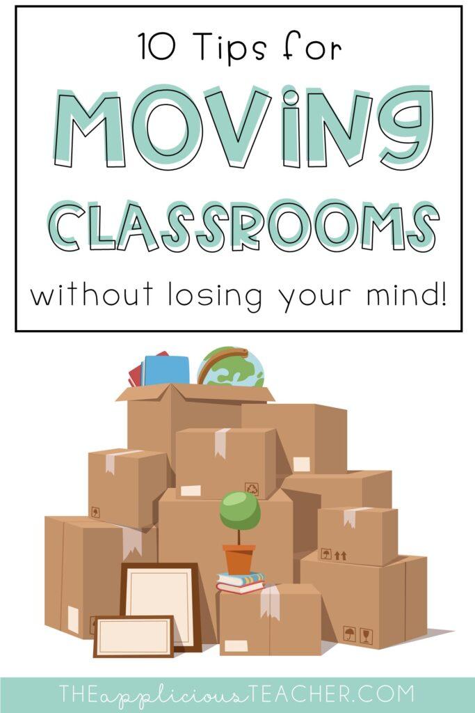 classroom move tips