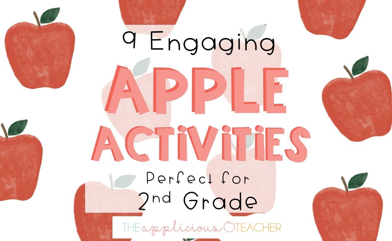 apple activities for 2nd grade